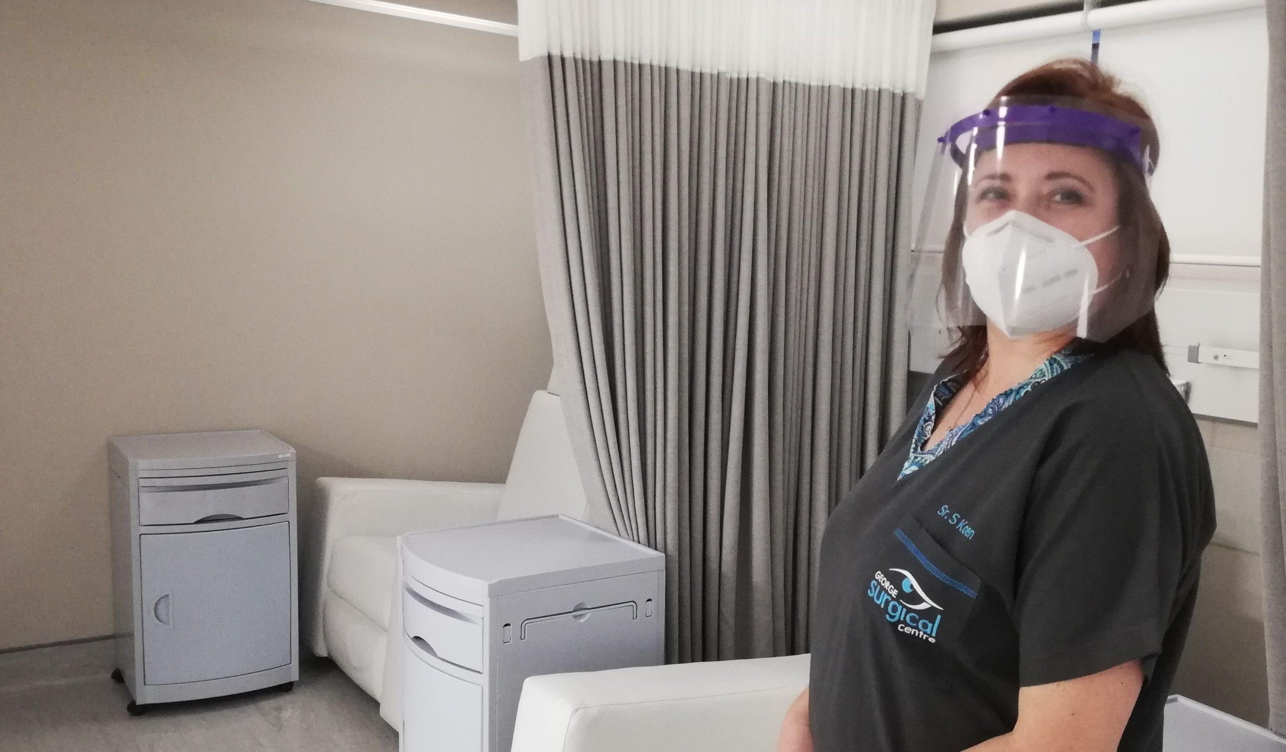 COVID 19 info ppe nurse